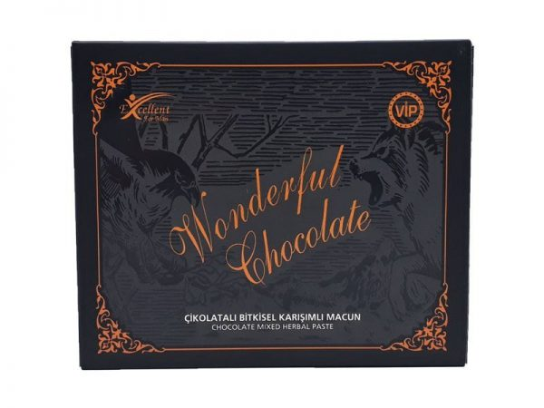 Wonderful Chocolate Natural Aphrodisiac, 15g x 12 pieces