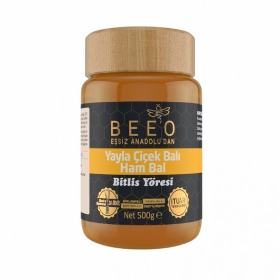 Beeo - Bitlis Region (Raw Honey) 500g - 17.6oz