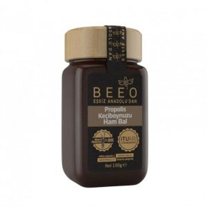 Beeo - Carob + Raw Honey + Propolis 190g - 6.7oz