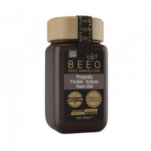 Beeo - Cocoa + Hazelnut + Raw Honey + Propolis 180g - 6.34oz