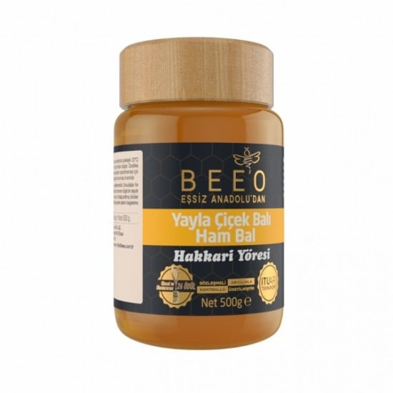 Beeo - Hakkari Region (Raw Honey) 500g - 17.6oz