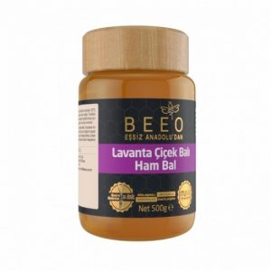 Beeo - Lavender Honey (Raw Honey) 500g - 17.6oz