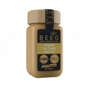 Beeo - Peanut + Raw Honey + Propolis 190g - 6.7oz