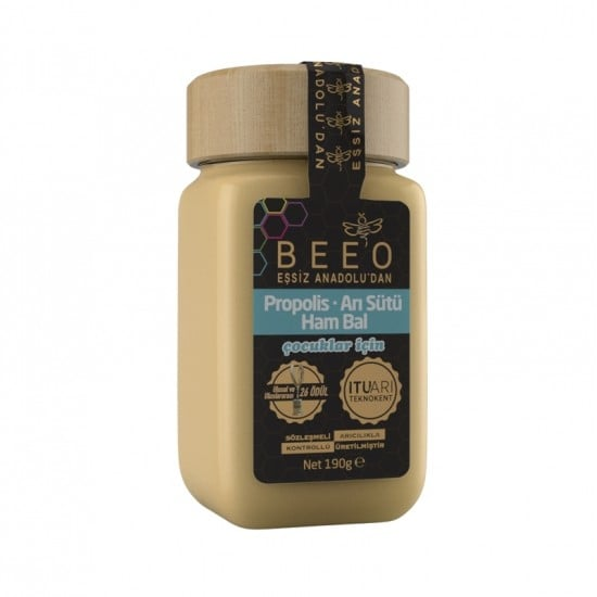 Beeo - Propolis + Royal Jelly + Raw Honey (Child) 190g - 6.7oz