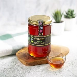 Organic Wild Flower Honey